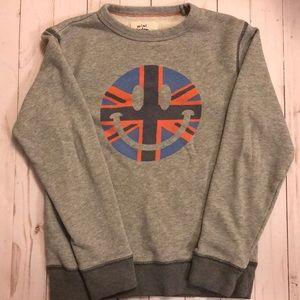 Mini Boden Smiley Face Sweatshirt